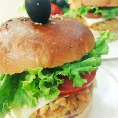 Photo of Yam and Chickpea Burger by uzma shouab at BetterButter