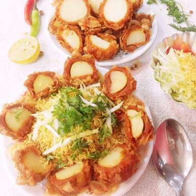 Photo of Potato pop corn chat by uzma shouab at BetterButter