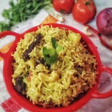 Photo of Mint Rice by uzma shouab at BetterButter