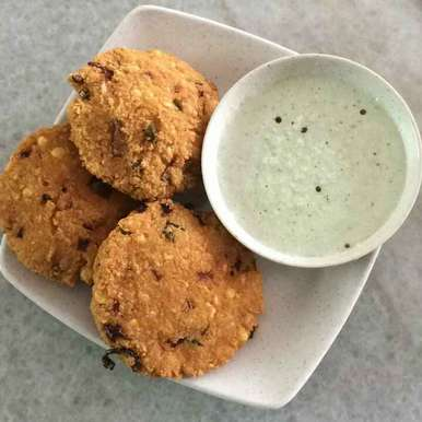 Mixed Lentil Fritters, How to make Mixed Lentil Fritters