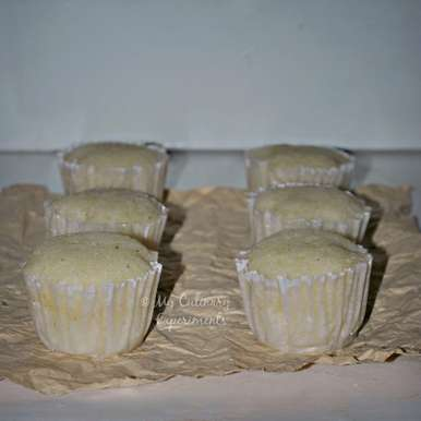 Photo of Eggless Rose And Cardamom Cupcakes by Vaishali Nagarajan at BetterButter