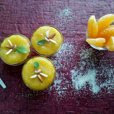 Photo of Orange Sheero by vaishali nandola at BetterButter