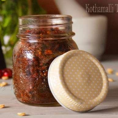 Photo of Kothamalli Thokku by vanamala Hebbar at BetterButter