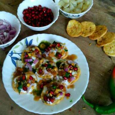 Photo of 2 minute Papdi chaat by Vandana Jangid at BetterButter