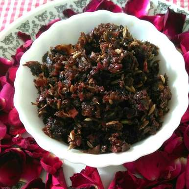 Photo of Gulkand or Rose petal jam by vandana jangid at BetterButter