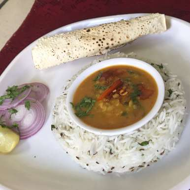 Dal Palak with tadka and jeera rice, How to make Dal Palak with tadka and jeera rice