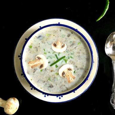 Photo of Cream of Mushroom Soup by Vanitha Bhat at BetterButter