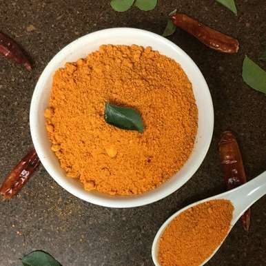 Photo of Molaga Podi/South Indian Chutney Powder by Vanitha Bhat at BetterButter
