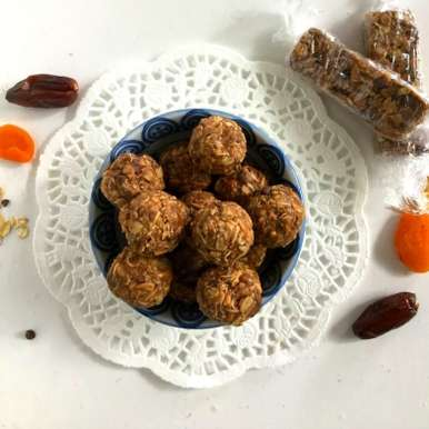 Photo of Sunflower Butter Ladoos /Energy Bites/Granola Bars by Vanitha Bhat at BetterButter