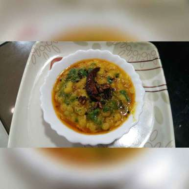 Photo of Dal tadka . by Varsha Deshpande at BetterButter