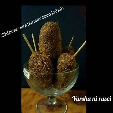 Photo of Chinese Oats Paneer Coco Kabab by Varsha Joshi at BetterButter