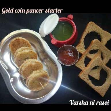 Photo of Gold Coin Paneer  by Varsha Joshi at BetterButter