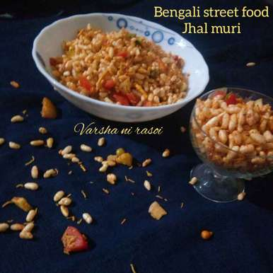 Photo of Bengali street food jhal muri by Varsha Joshi at BetterButter