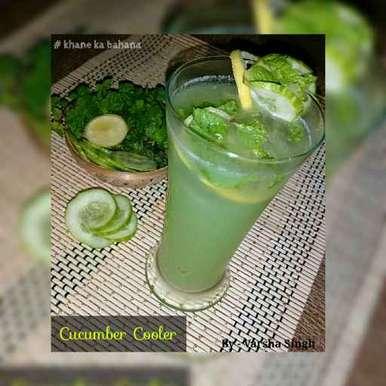 Cucumber Cooler, How to make Cucumber Cooler