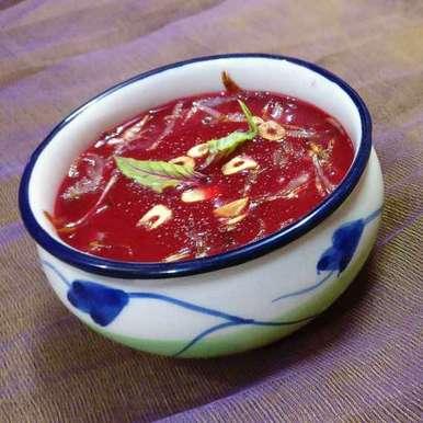Tomato Beetroot Soup, How to make Tomato Beetroot Soup