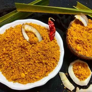 Andhra Kobbari Karam Podi/ Dry Coconut Powder