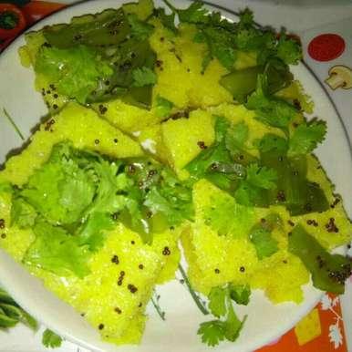 Khaman recipe in Hindi,खमण, Veena Ranga
