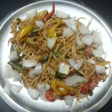 Photo of butter hakka noodles home style  restaurant by veera lakshmi at BetterButter