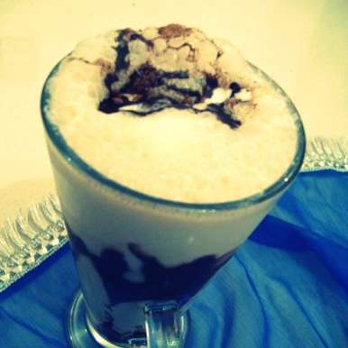 Photo of Chocolaty Pina Colada by Vertika Srivastava at BetterButter