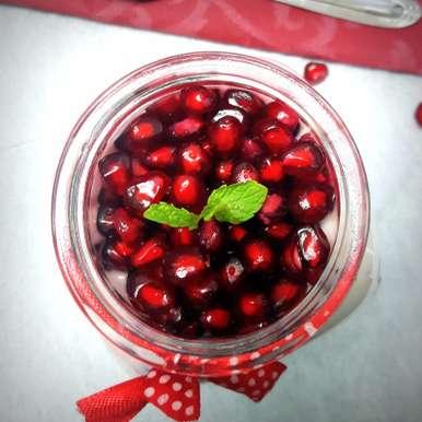 Photo of Mint and Pomegranate Raita by Vibha Bhutada at BetterButter