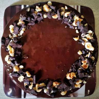 Photo of No-Bake Chocolate Biscuit Cake by Vibha Bhutada at BetterButter