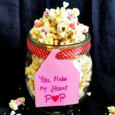 Photo of Valentine's Popcorn by Vibha Bhutada at BetterButter