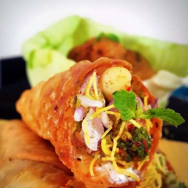 Photo of Cone Chaat by Vibha Bhutada at BetterButter