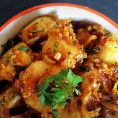 Kela Masala Sabzi (Banana Dry Curry with Spices), How to make Kela Masala Sabzi (Banana Dry Curry with Spices)