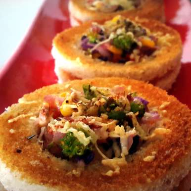 Photo of Baked Cheese Rings by Vibha Bhutada at BetterButter