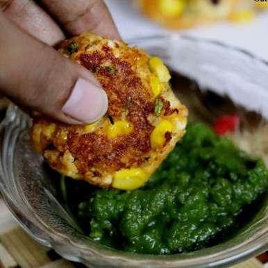 Photo of Oats, Paneer and Corn Tikkis or Cutlets by Vidya Narayan at BetterButter