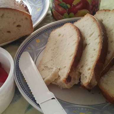 Eggless White Bread, How to make Eggless White Bread