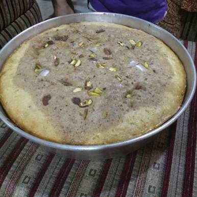 Photo of Eggless cake by Vidyutaa Kashyap at BetterButter