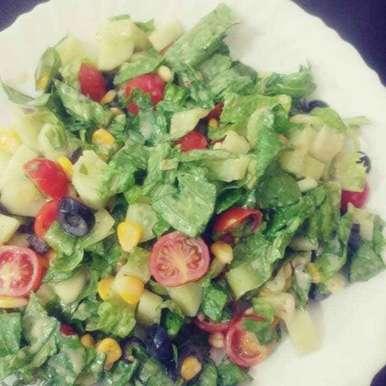 Photo of Salad by Vidyutaa Kashyap at BetterButter