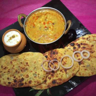 Photo of PANCHMEL DAAL WITH BESAN ROTI by Vid'zz Batra at BetterButter