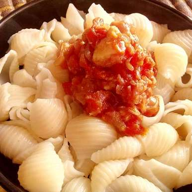 Photo of Pasta in Red Sauce by Viney Yadav at BetterButter