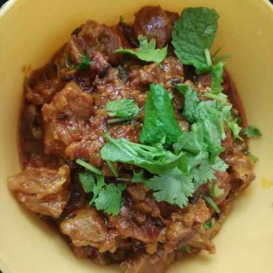 Photo of Mutton semi dry by Vinothini Manoharan at BetterButter