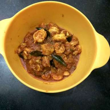 Photo of Prawns in Tomato Gravy by Vinutha HK at BetterButter