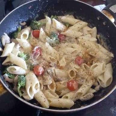 Chicken Alfredo Pasta, How to make Chicken Alfredo Pasta