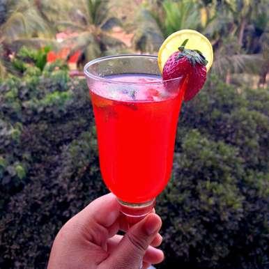 Photo of Strawberry Mint Lemonade by Winola Peris at BetterButter