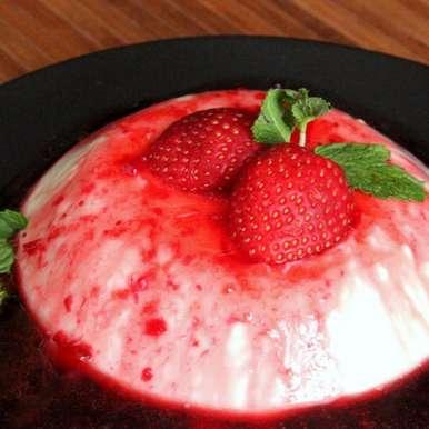 Photo of Vanilla Yogurt Panna Cotta by Winola Peris at BetterButter