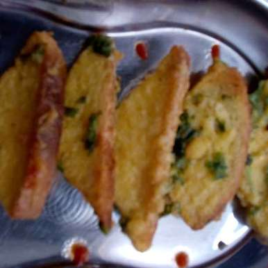 Photo of bred na bhajiya by Yashi Bhumi Kariya at BetterButter