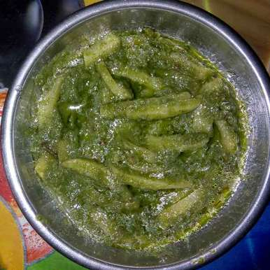 Photo of green sak by Yashi Bhumi Kariya at BetterButter