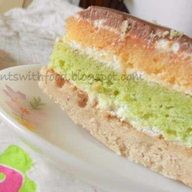 Photo of Joan's Rainbow Cake by Zareena Siraj at BetterButter