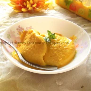 Photo of Easy Homemade Mango Ice cream by Zareena Siraj at BetterButter