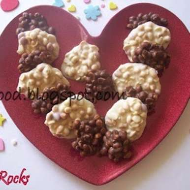 Photo of Peanut Choco Rocks by Zareena Siraj at BetterButter