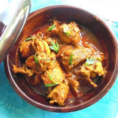 Photo of Ummachi's Spicy and Tasty Chicken Curry by Zareena Siraj at BetterButter