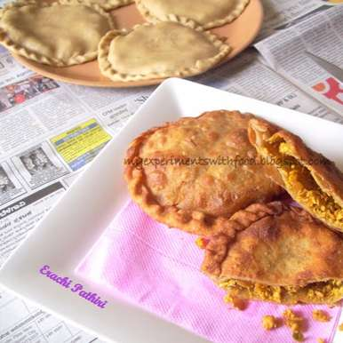 Photo of Erachi Pathiri / Chicken Stuffed Rotis by Zareena Siraj at BetterButter
