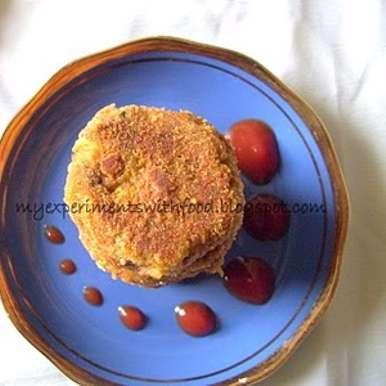 Photo of Soya chunks - bread fruit cutlets by Zareena Siraj at BetterButter
