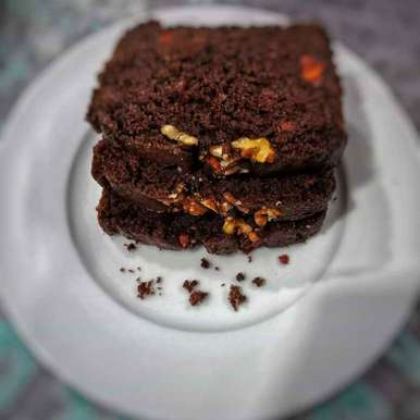 Photo of Chocolate Carrot Walnut Cake by Zeba f lari at BetterButter