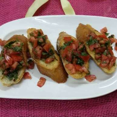 Tomato Bruschetta, How to make Tomato Bruschetta